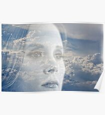 Shes got her head in the clouds Poster