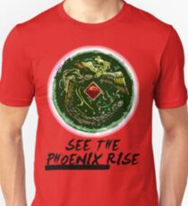 """See the Phoenix Rise"" Phoenix Mirror T-Shirt"