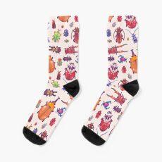 Beetle - pastel Socks