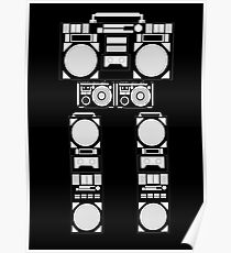robotic radio Poster