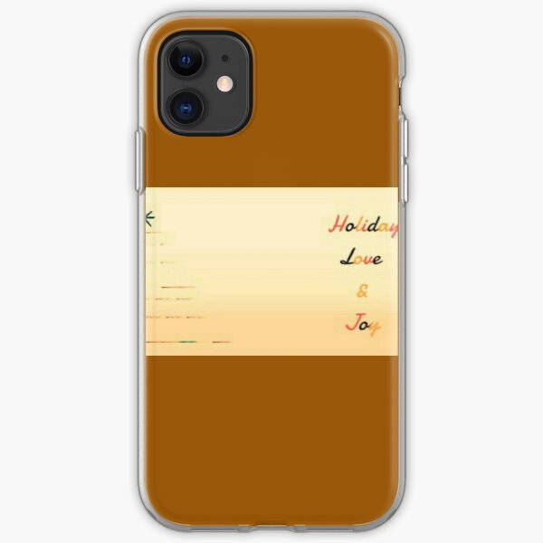 Vintage holiday 1 iPhone Soft Case