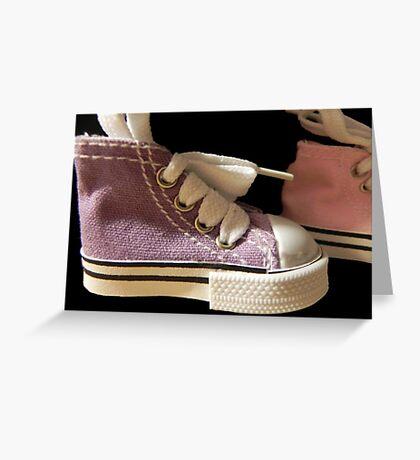 Walk in my Converse!!! ©  Greeting Card