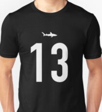 Willie Beamen 13 Miami Sharks Football T-Shirt