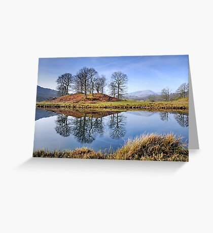 The Lake District - River Brathay Greeting Card