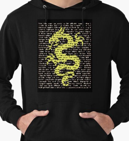"""""""The Year Of The Dragon"""" Clothing Lightweight Hoodie"""