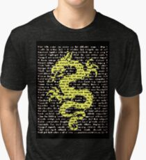 """The Year Of The Dragon"" Clothing Tri-blend T-Shirt"