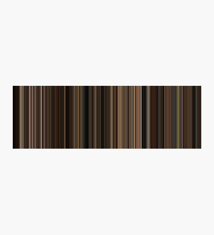 Moviebarcode: The Godfather (1972) [Simplified Colors] Photographic Print