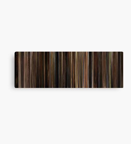 Moviebarcode: The Godfather (1972) Canvas Print