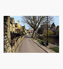 Bourton-on-the-Water  Cotswolds  UK Photographic Print