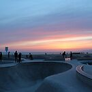 Venice Beach - Los Angeles by Aaron Booth