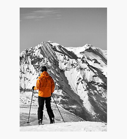 Reaching the Summit: Intrigue & Amazement Photographic Print