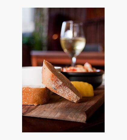 a snack before wine Photographic Print