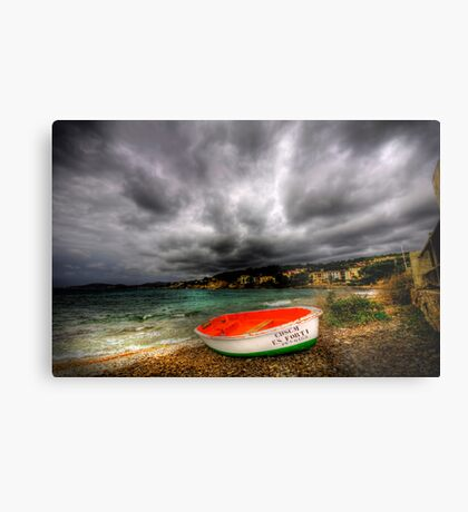 Little Row Boat Metal Print