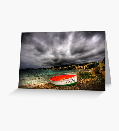 Little Row Boat Greeting Card