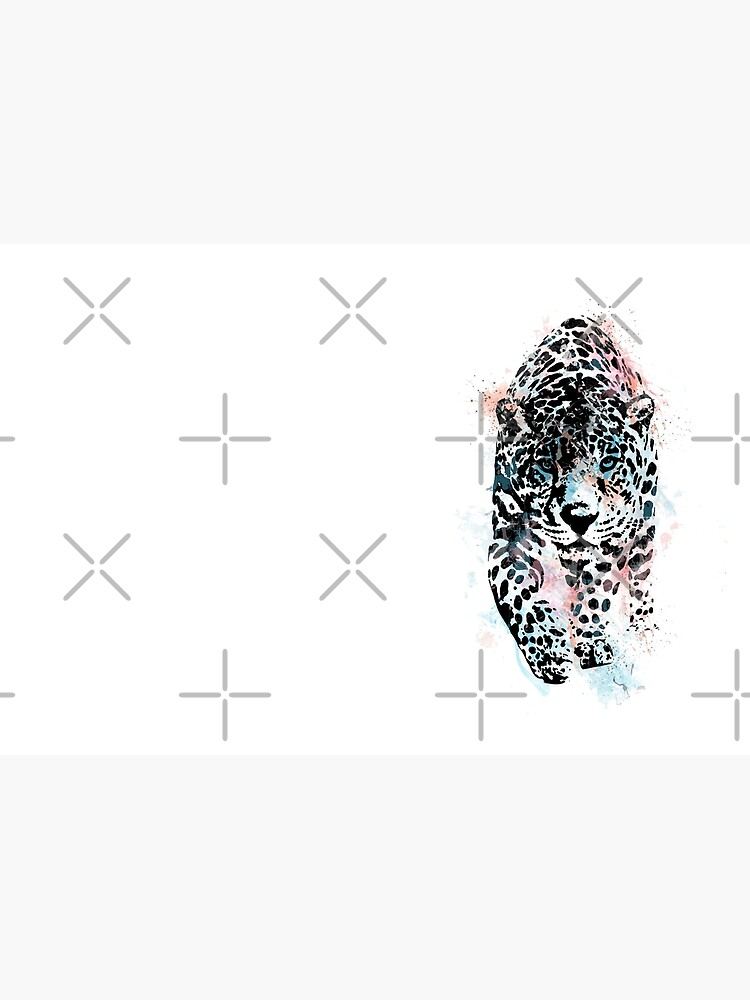 Leopard, watercolor Leopard, Leopard art by Rosaliartbook