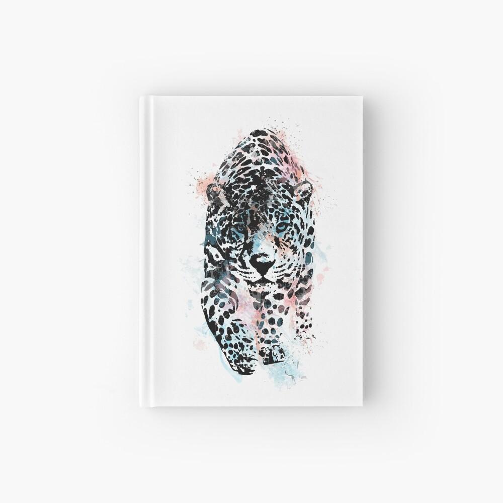 Leopard, watercolor Leopard, Leopard art Hardcover Journal