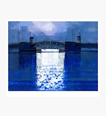 dawn bridge Photographic Print