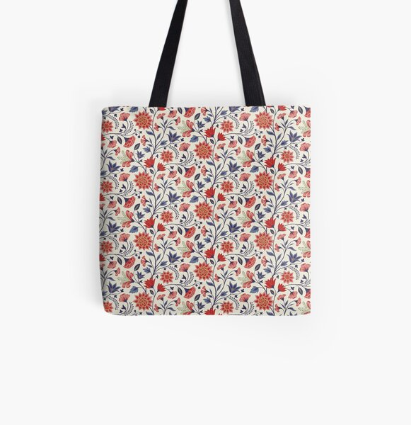 Chintz All Over Print Tote Bag