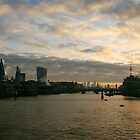 London morning - old and new by Themis