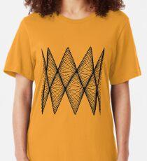 Lissajous X Slim Fit T-Shirt