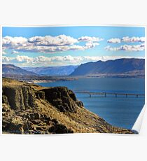 Beautiful Vantage - Columbia River Gorge Poster