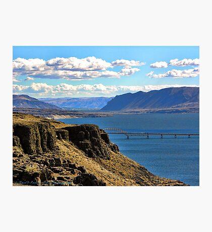 Beautiful Vantage - Columbia River Gorge Photographic Print