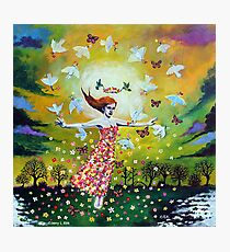 'Awakening (First Dance of Spring)' Photographic Print
