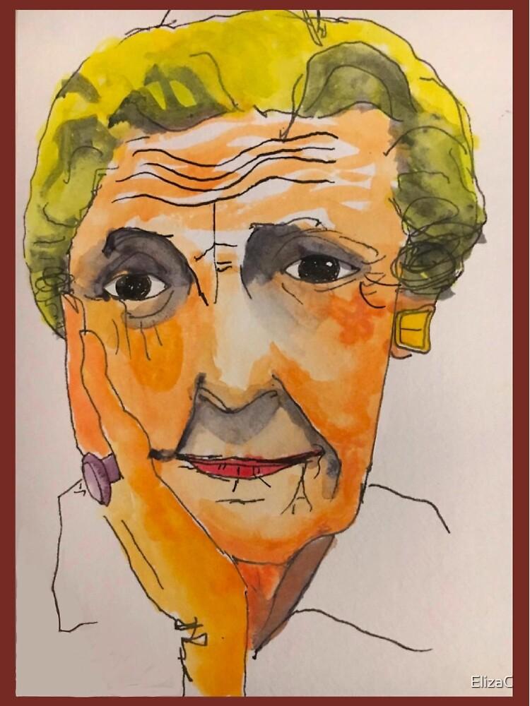 Sighing Grandma by ElizaC