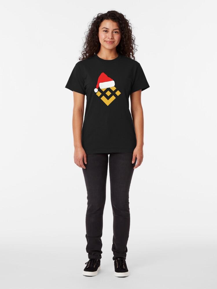 Alternate view of Binance Crypto Christmas Classic T-Shirt