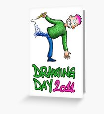 Drawing day 2011 Greeting Card