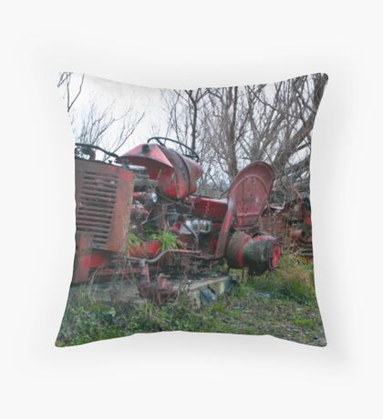 Once Were Workhorses Throw Pillow
