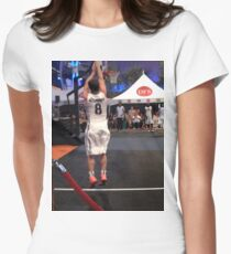 JHutch jump shot Women's Fitted T-Shirt