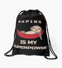 Naping Is My Superpower - Funny Sloth Turnbeutel