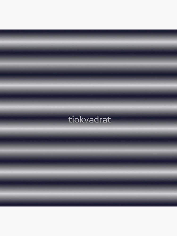 Vibrating Horizontal Bars - Blue Grey by tiokvadrat