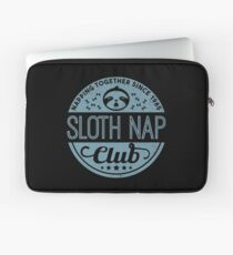 Sloth Nap Club Napping Together - Team Sloth Laptoptasche