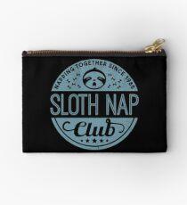 Sloth Nap Club Napping Together - Team Sloth Täschchen