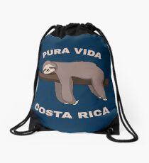 Pura Vida Costa Rica - Cool Costa Rica Sloth Turnbeutel