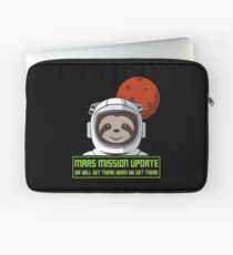 We Will Get There When We Get There - Mars Mission Laptoptasche