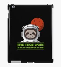 We Will Get There When We Get There - Mars Mission iPad-Hülle & Klebefolie