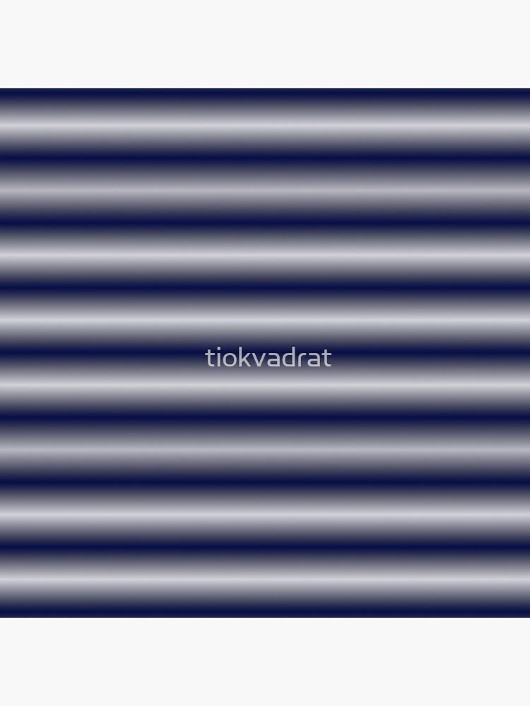 Vibrating Horizontal Bars - Navy Blue by tiokvadrat