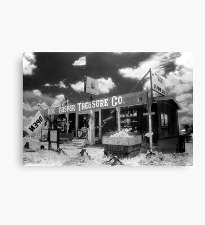 Gaspar's shop Canvas Print