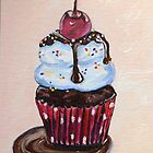 Chocolate Cupcake with a Cherry On Top by Ranisha