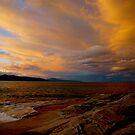 tasman sunset. australia by tim buckley | bodhiimages