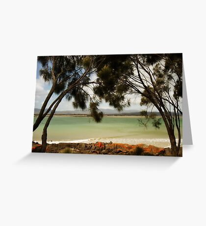 A piece of paradise Greeting Card