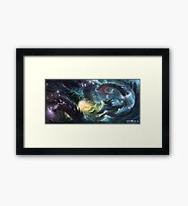 Seafood Dish  Framed Print