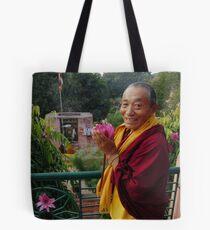 Venerable Khenchen Palden Sherab Rinpoche  Tote Bag