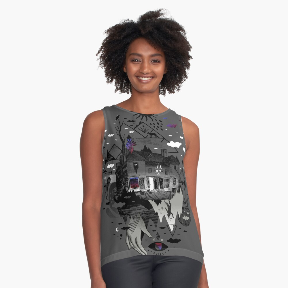 House is Not a Home Sleeveless Top