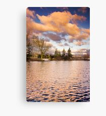 Painted Morning-HDR Canvas Print