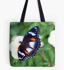 Common Eggfly Butterfly in my Innisfail garden Tote Bag