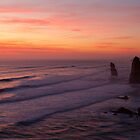 12 Apostles, End of Day by Paul Oliver